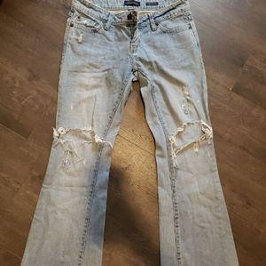 Aeropostale Destroyed Denim Jeans